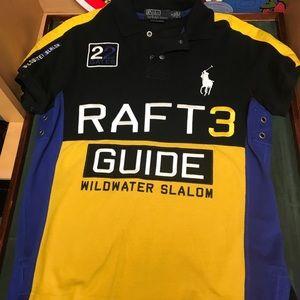 "Throwback Ralph Lauren ""Raft Guide"" polo Sz S"